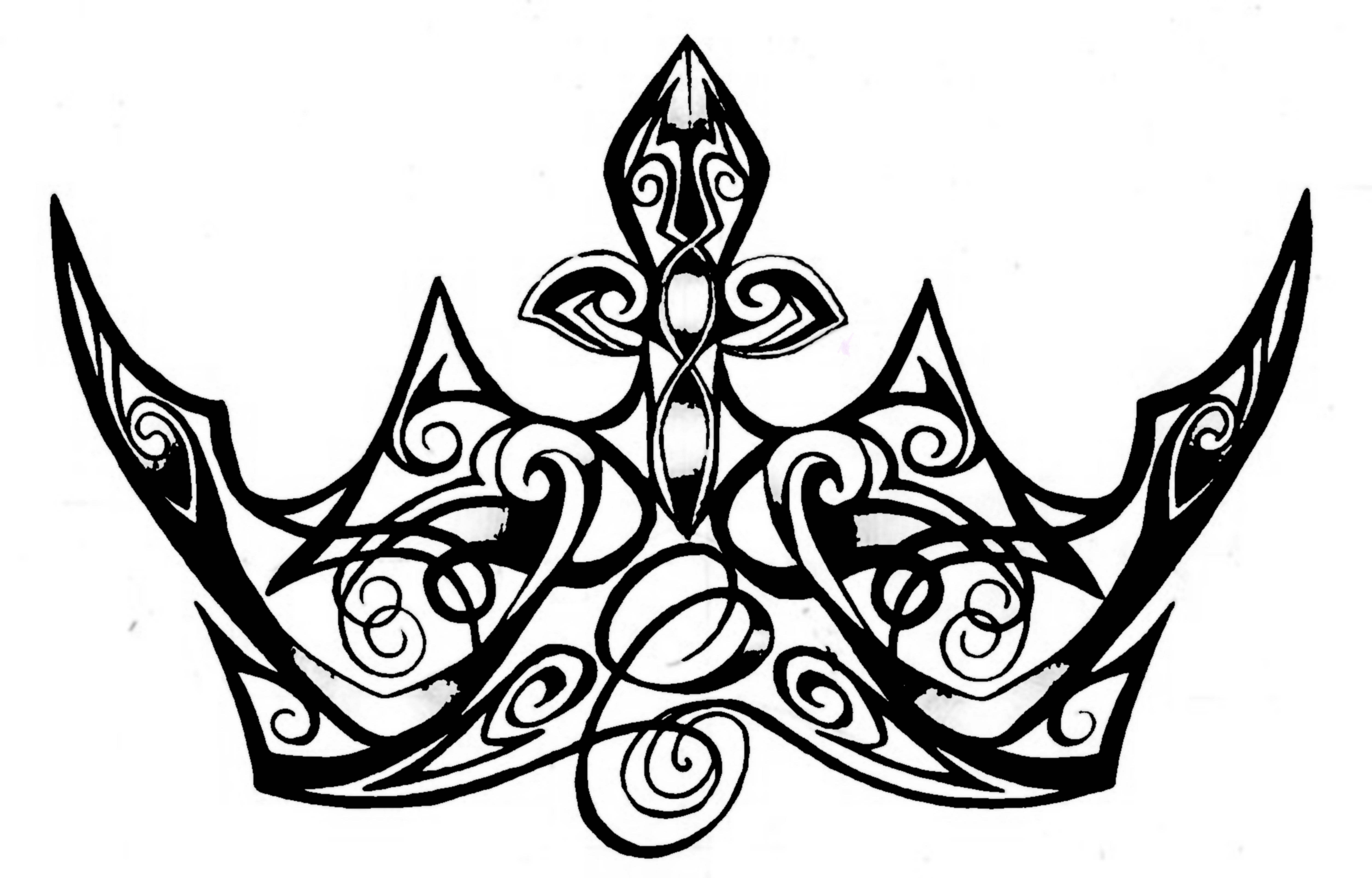 Free Queen Crown Drawing Download Free Clip Art Free