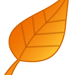 animated clip art falling leaves [ 2504 x 3500 Pixel ]