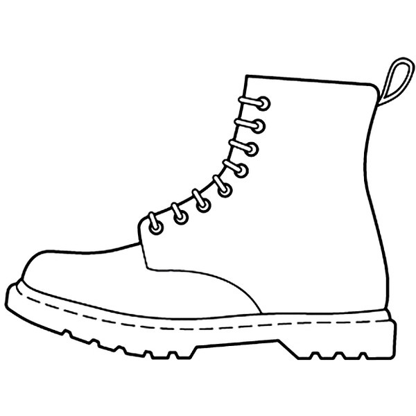 Free Shoe Outline, Download Free Clip Art, Free Clip Art