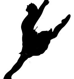 dancer clipart silhouette leap clipart library free clipart images [ 944 x 1220 Pixel ]