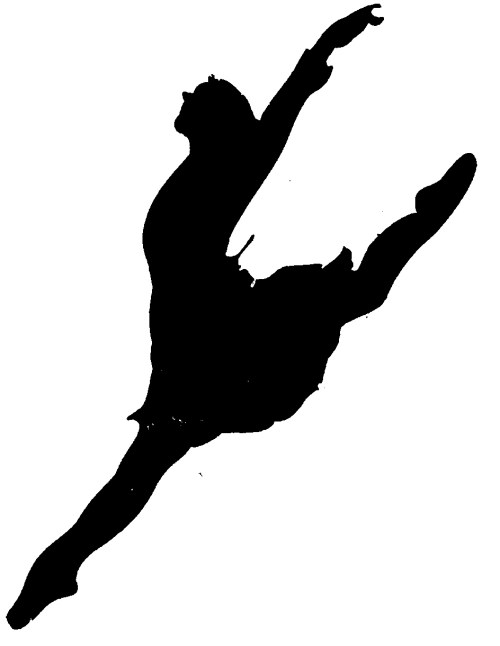 small resolution of dancer clipart silhouette leap clipart library free clipart images