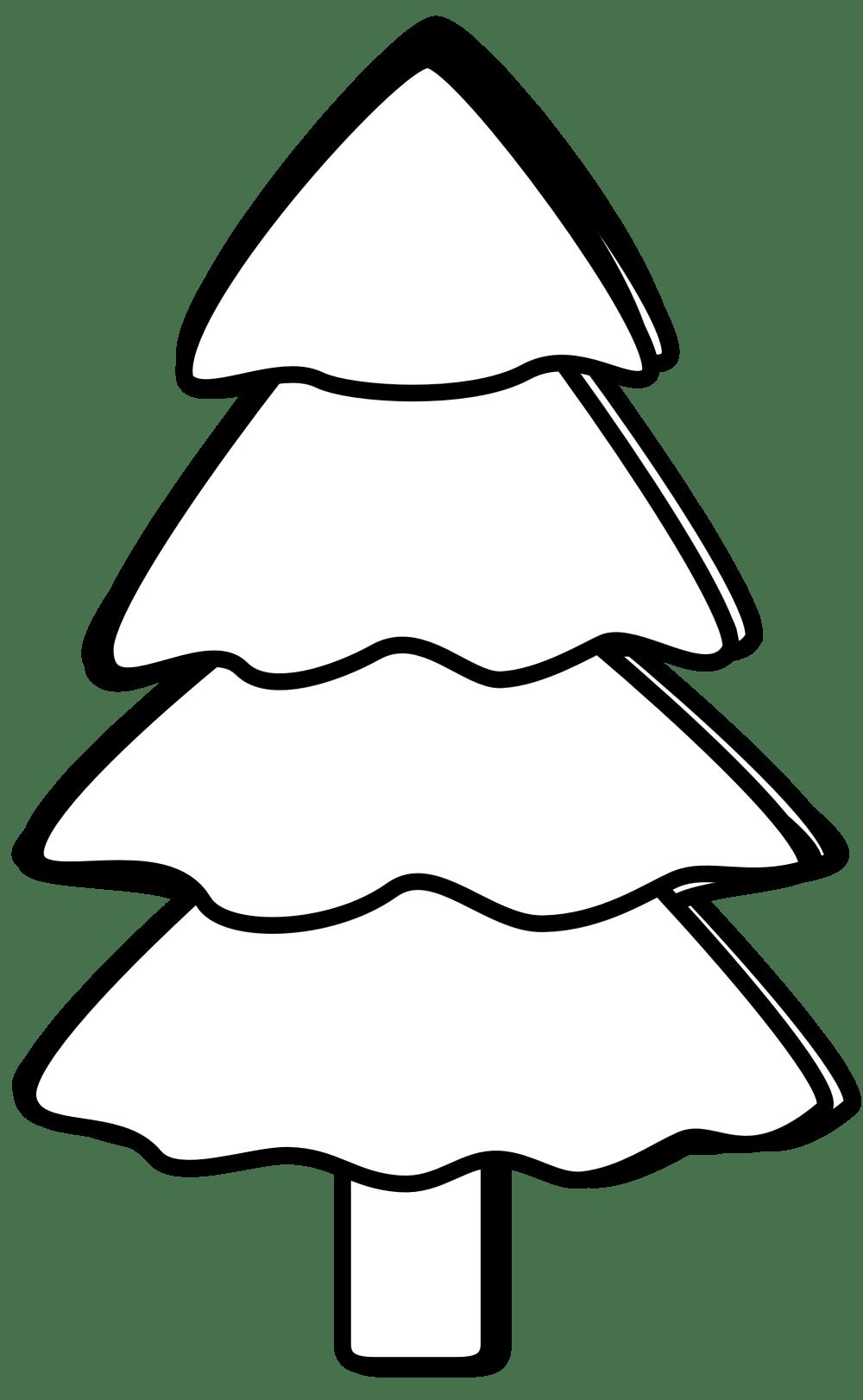 medium resolution of harmonic tree black white line art christmas xmas coloring book