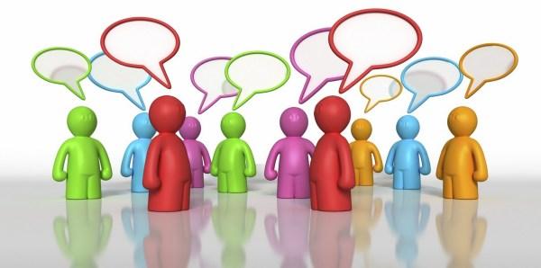 free people talking