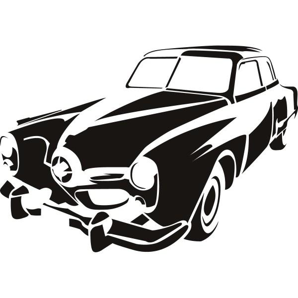 free car outline logo