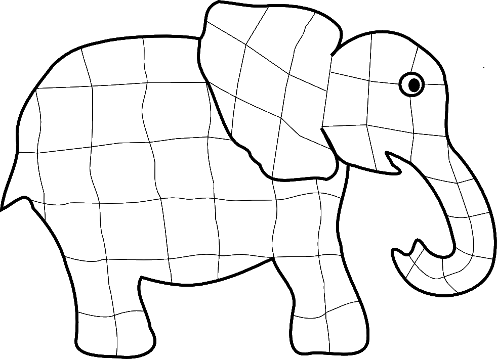 Pictures Of Elephants To Draw