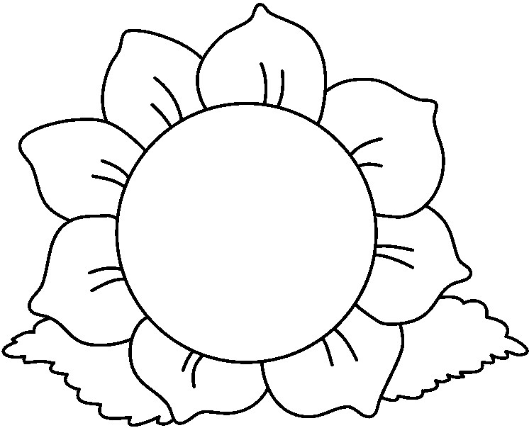 free flower images black