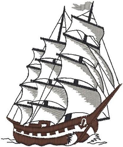free clipper ship