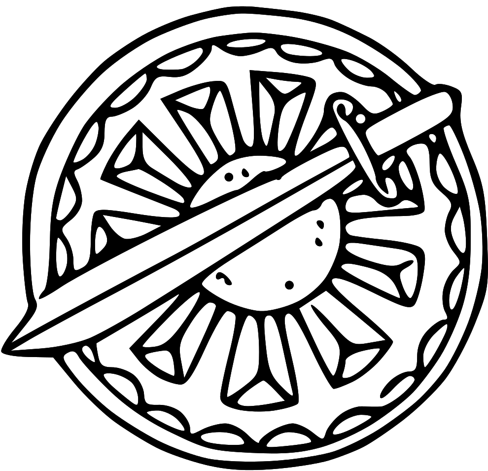 Images For Shield Coloring Page