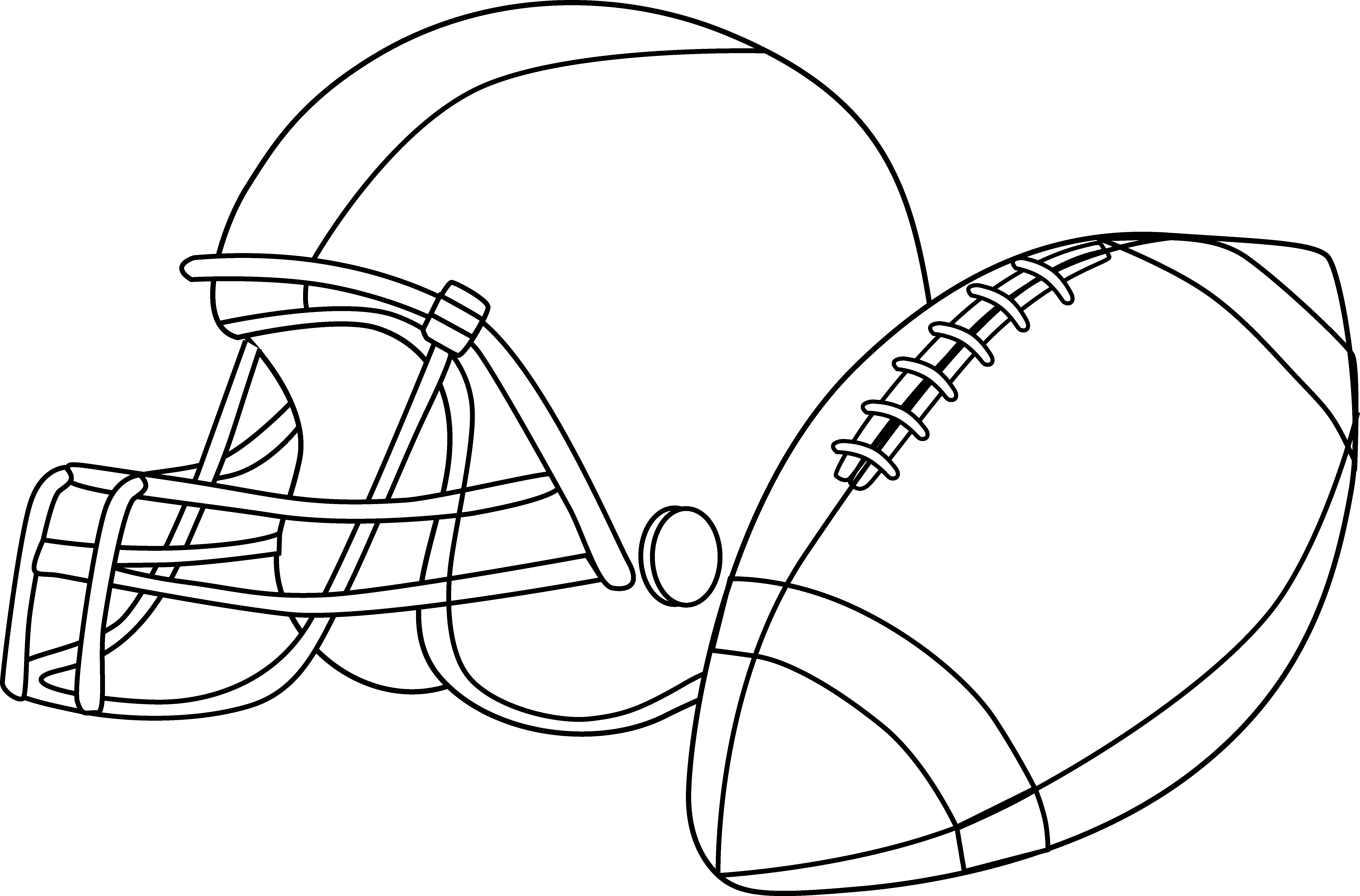Football Pictures For Line Art