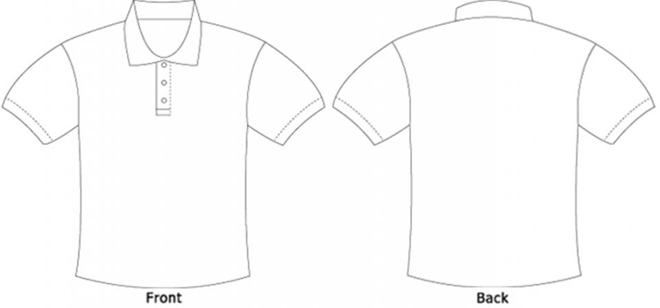 Free Blank Polo Shirt Template, Download Free Clip Art