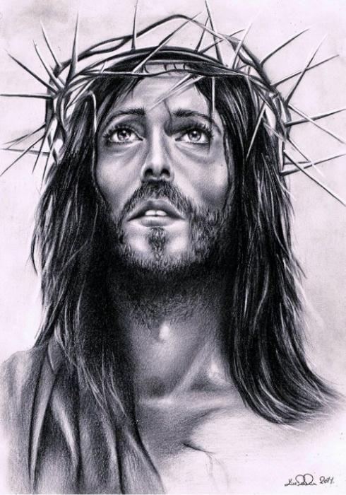Religious Pencil Drawings
