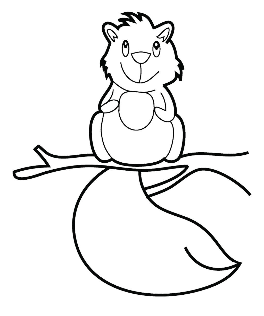 Free Flying Squirrel Coloring Page Download Free Clip Art