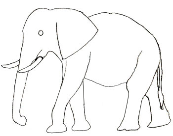 Free Elephant Drawing, Download Free Clip Art, Free Clip