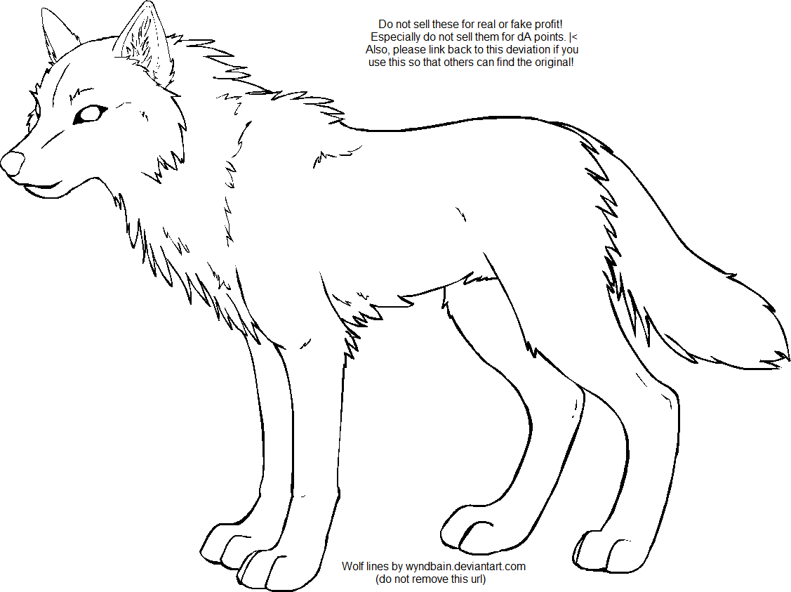 wolf maker lines by