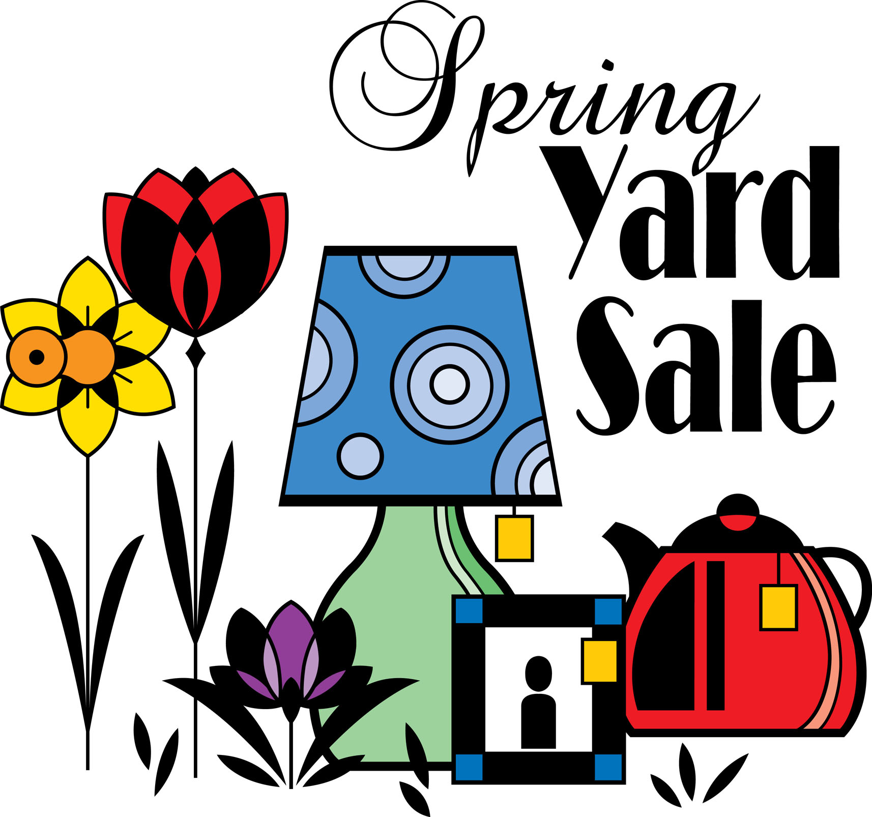 hight resolution of yard sales clip art clipart library