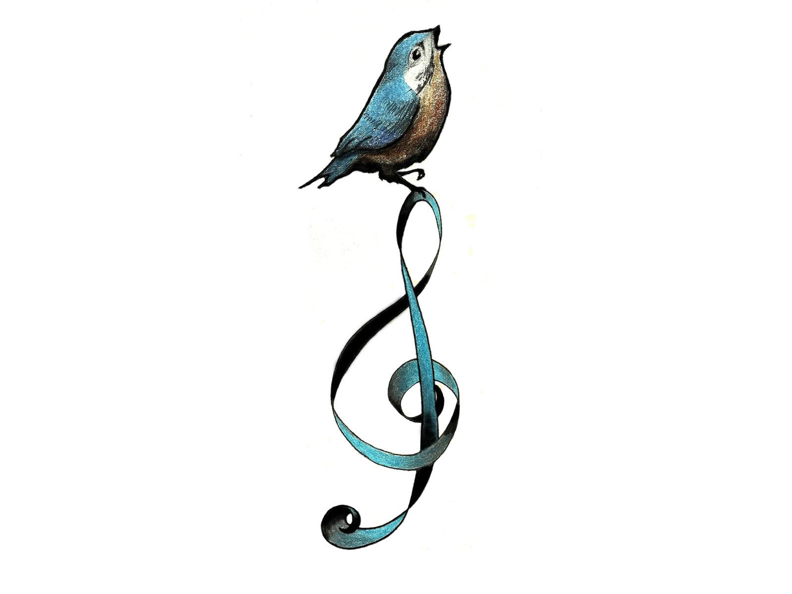 Free Cartoon Bird Tattoo Download Free Clip Art Free