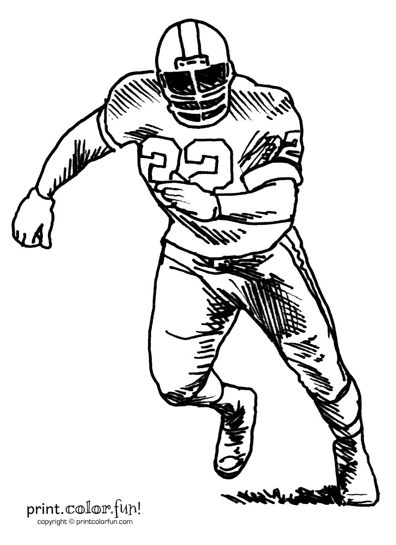 Free Drawing Of Football Players, Download Free Clip Art