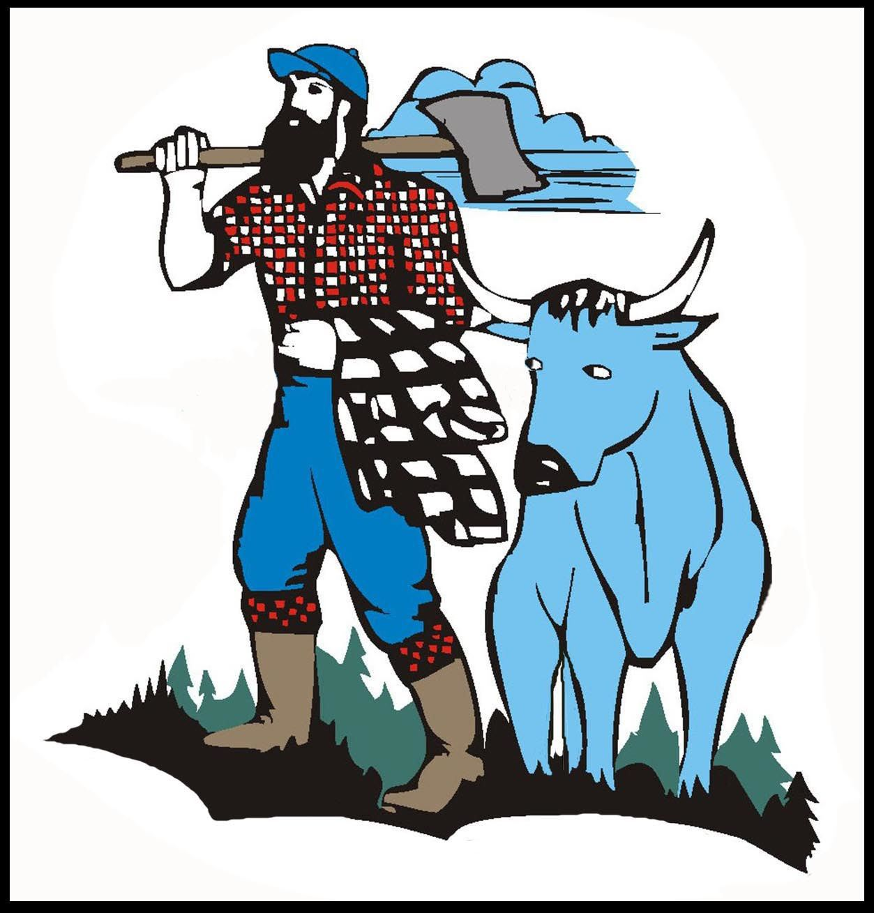 hight resolution of paul bunyan clipart clipart library