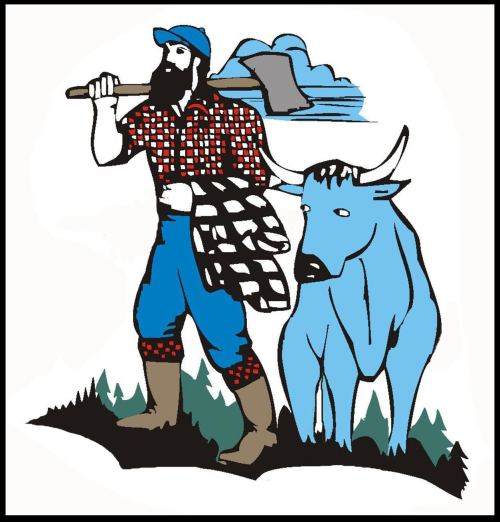 small resolution of paul bunyan clipart clipart library