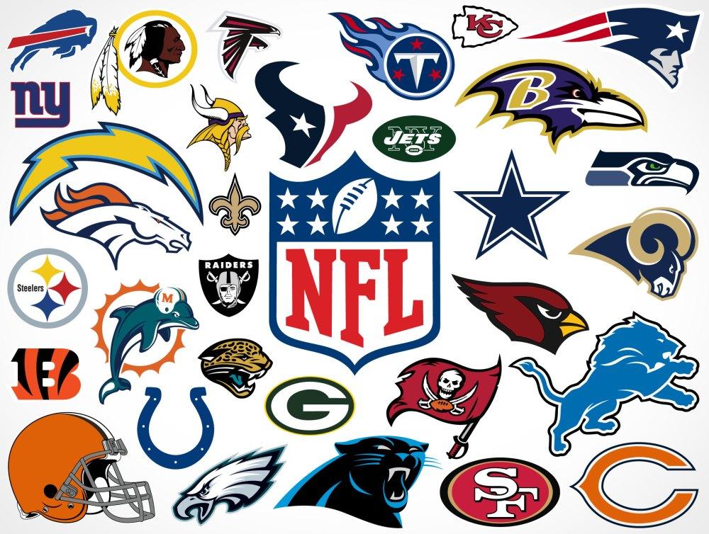 medium resolution of national football league team vector logos market your psd