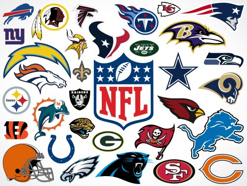 small resolution of national football league team vector logos market your psd