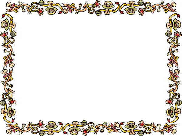 Free Border Word Clip Art