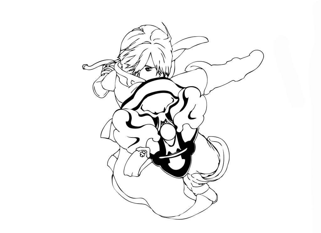 Free Dragon Line Art, Download Free Clip Art, Free Clip