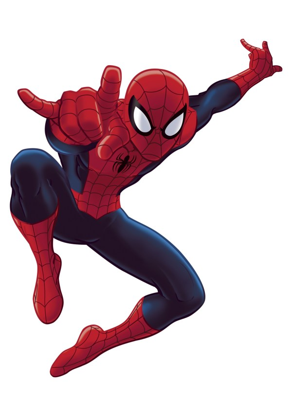 Free Spiderman Clip Art