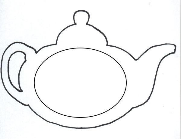 teapot coloring page # 6
