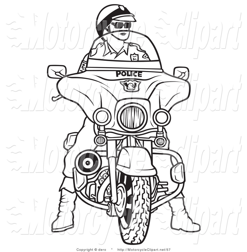 Free Police Officer Outline, Download Free Clip Art, Free