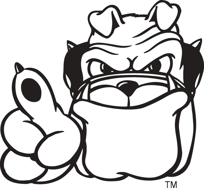 georgia bulldog mascot Colouring Pages
