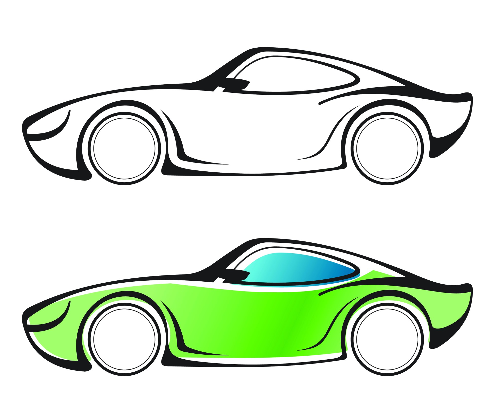 hight resolution of free car vector clipart library