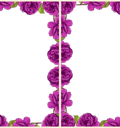purple rose border images pictures becuo [ 1066 x 755 Pixel ]
