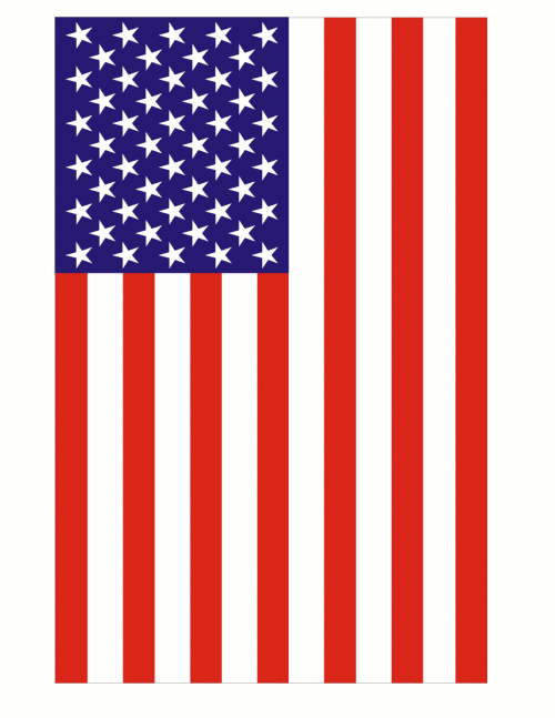 small resolution of usa flag clip art free www
