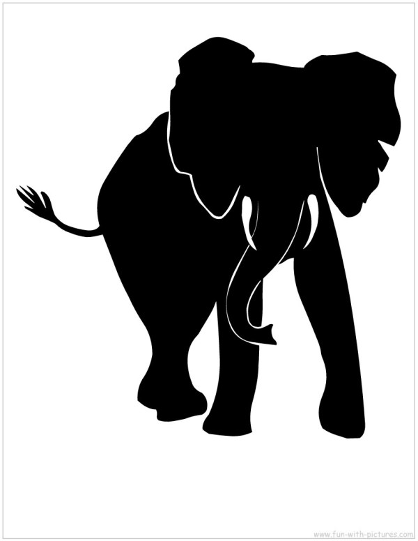 Free Silhouette Animals Clip Art
