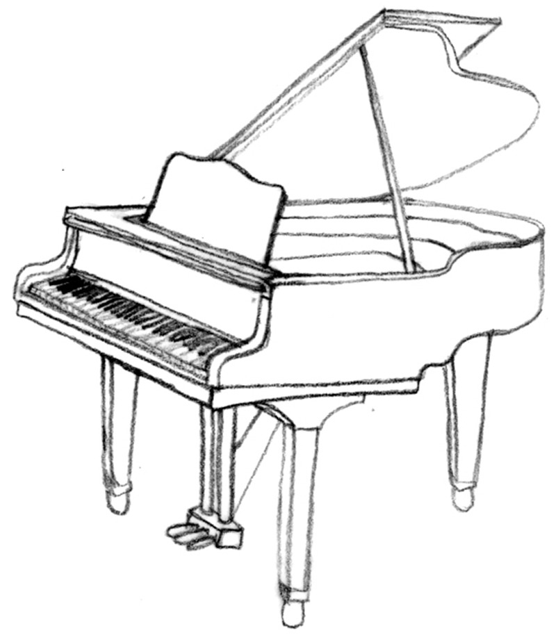 Free Drawings Of Musical Instruments, Download Free Clip