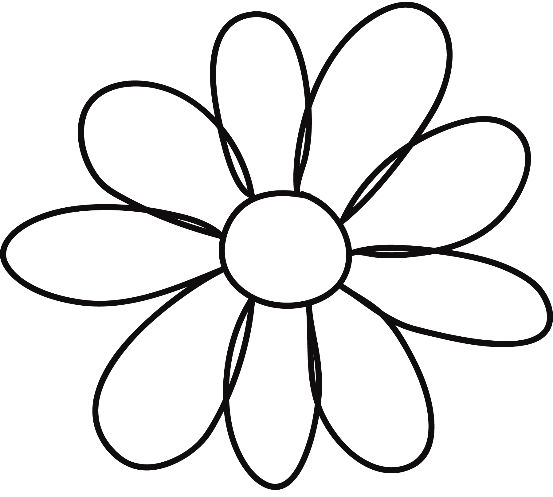 Free Flower Petal Template Printable, Download Free Clip
