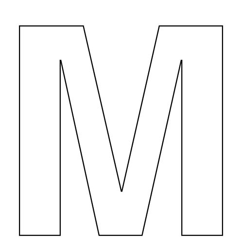 Free The Letter M, Download Free Clip Art, Free Clip Art
