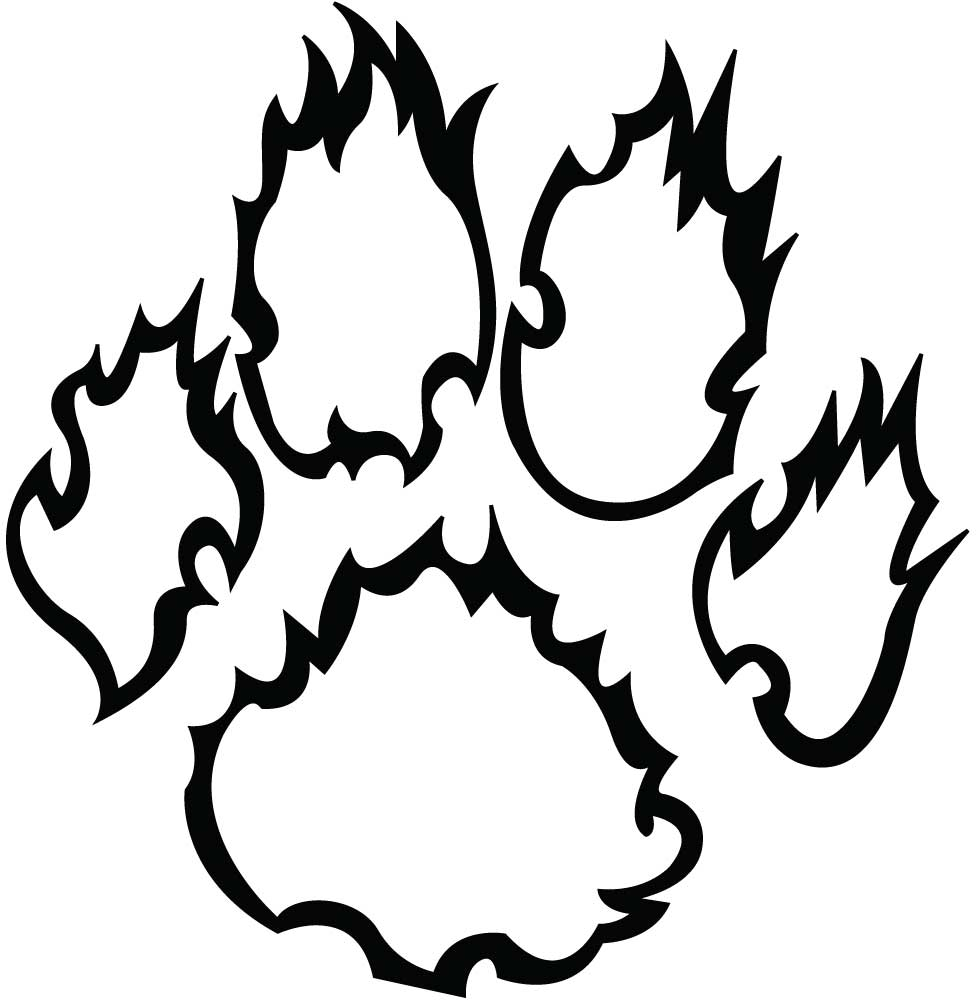 Free Panther Paw, Download Free Clip Art, Free Clip Art on