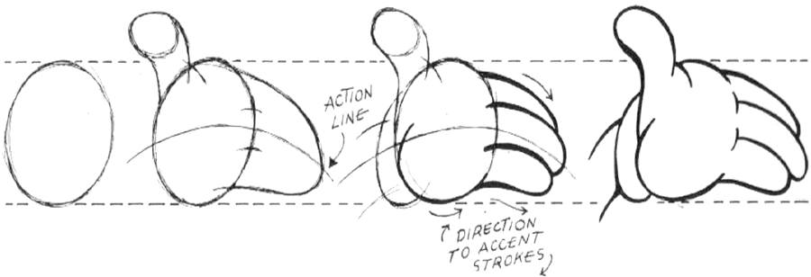 How to Draw Cartoon Hands : Guide to Drawing Comic Hands