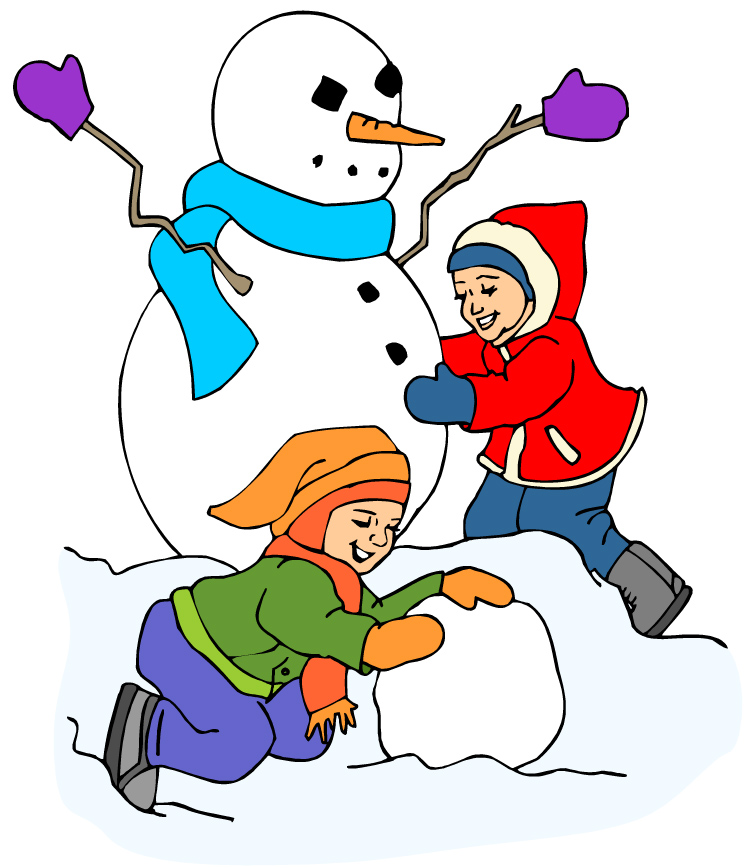Your Will Clip Art Snow