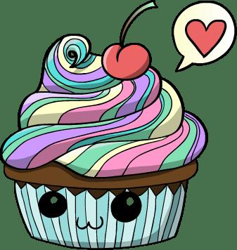 free cupcakes cartoons