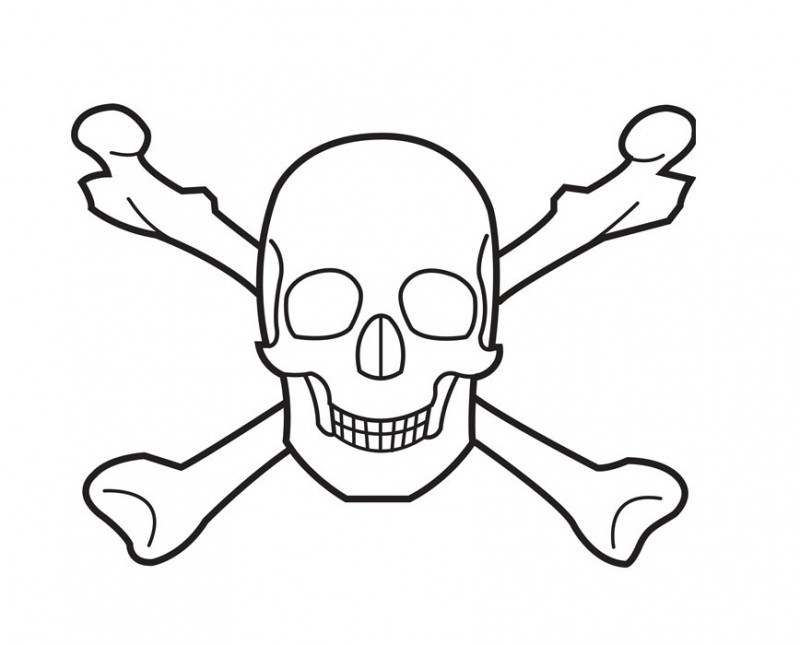 Free Crossbones Pictures, Download Free Clip Art, Free