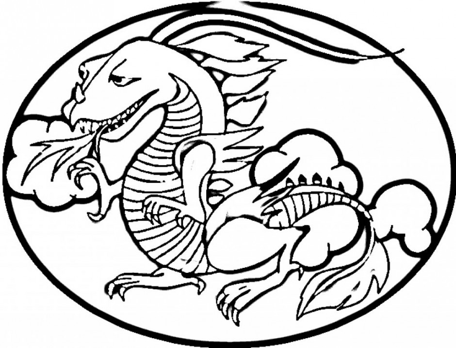 Chinese Dragon Outline Colouring Pages Page Id 82204 156881
