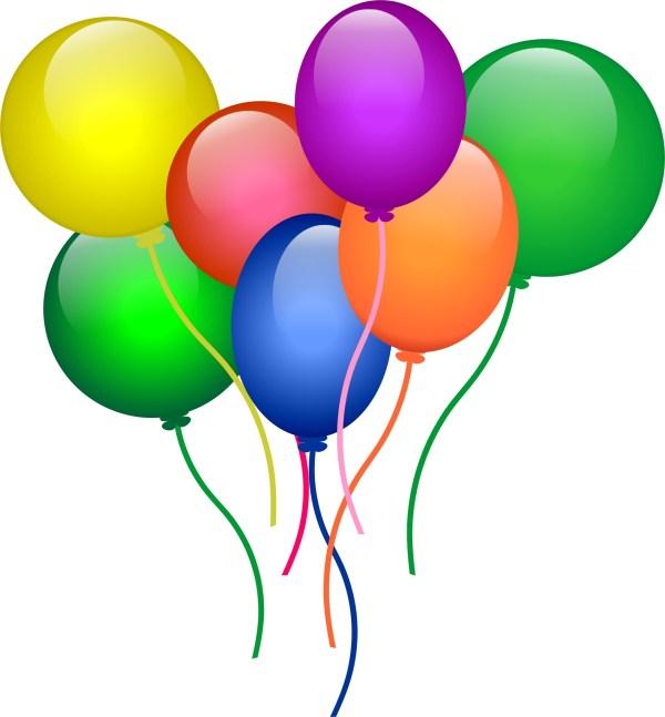 Free Ballons Clip Art