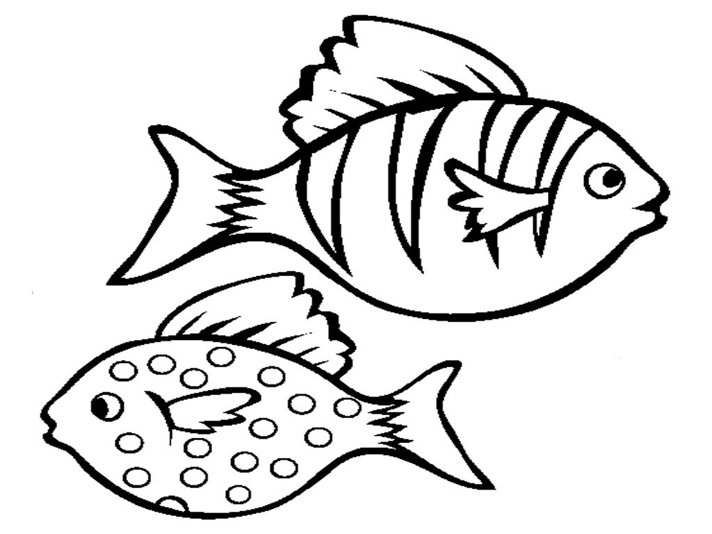 Free Cute Fish Outline, Download Free Clip Art, Free Clip