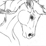 Free Horse Drawing Easy Download Free Clip Art Free Clip Art On Clipart Library