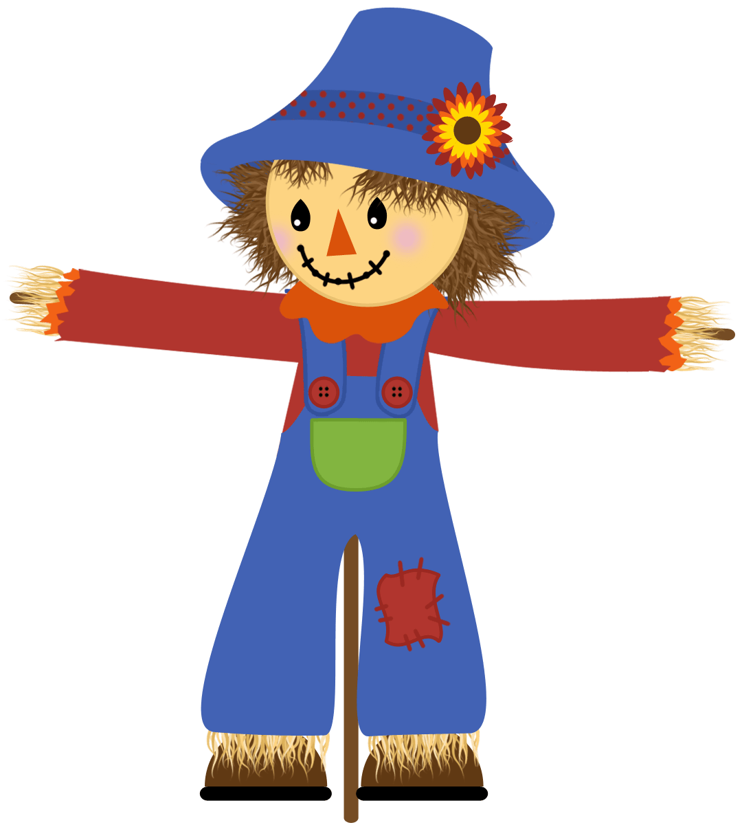 hight resolution of scarecrow clip art clipart library