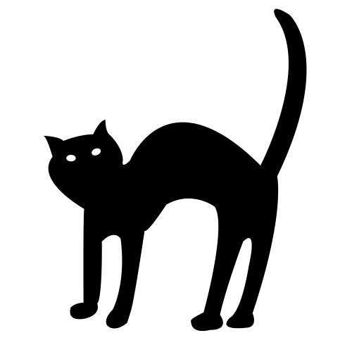 small resolution of cute halloween cat clipart clipart library free clipart images