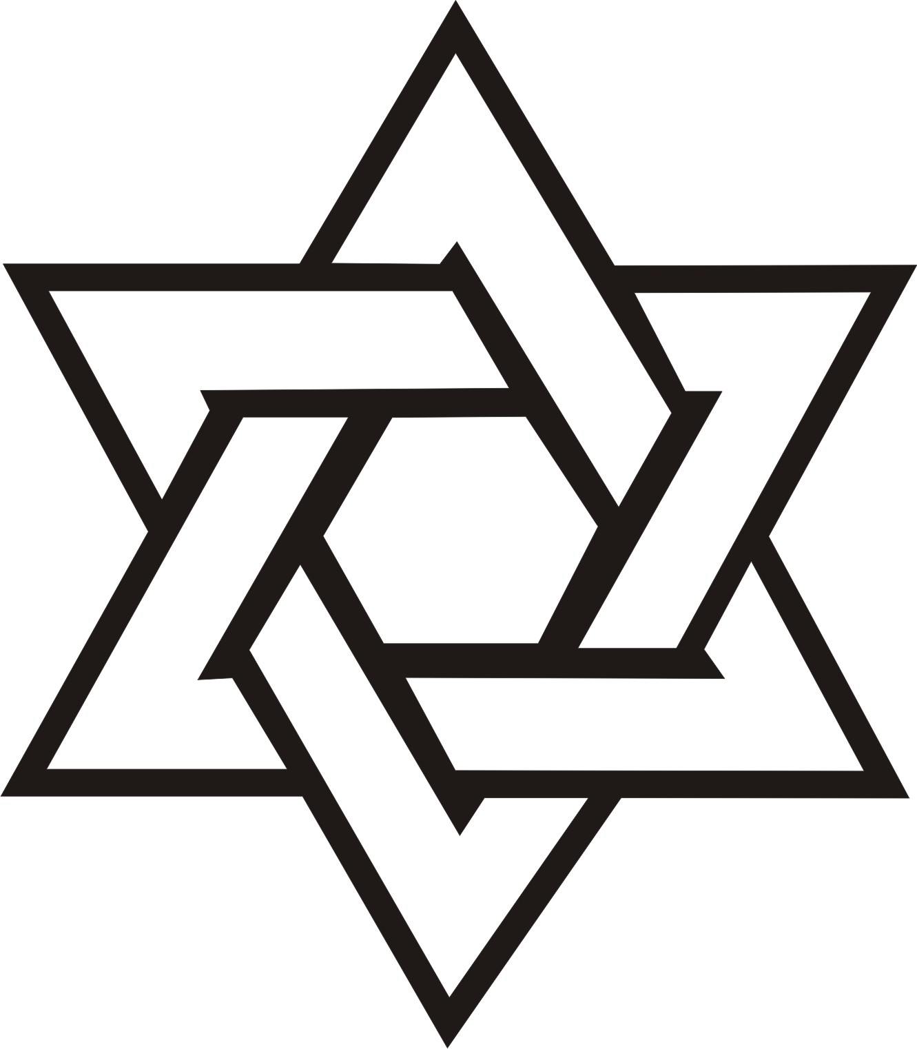 hight resolution of star of david vector clipart library